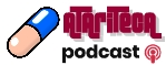 Logo for Atariteca Podcast